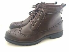 New Mens Casual Formal Lace Up Brogues Designer Boots Shoes Sizes 6 7 8 9 10 11