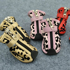 pet dogs sport shoes BOOTS Protective Shoes Booties with zipper waterproof P105