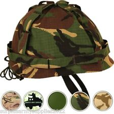 ARMY HELMET + COVER US ARMY M1 REPLICA COMBAT HAT BOYS ADULTS WW2 VIETNAM