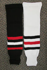 Chicago Pro Weight Hockey Socks - Adult, Intermediate, Youth, Mite Sizes NEW!!!