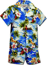 Tropical Boys Clothes Waikiki Beach 220-3238 NEW 100% Cotton Made in Hawaii. USA