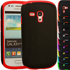 Dual Layer Hybrid Cover Combo PC+Silicone Case for Samsung Galaxy S3 Mini i8190