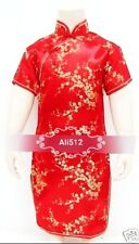 asian indian chinese pakistani Girls dress girl KATAN Silk Party dress1-14 yr