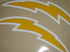 SAN DIEGO CHARGERS Throwback Football Helmet Decals  VARIOUS STYLES 3M 20MIL