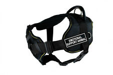 """Dean & Tyler """"DT Fun with Chest Support"""" Dog Harness with Fun Patches an"""