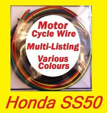 Honda SS50  - Motor Cycle Wire - Multi Listing - You Choose colour / length