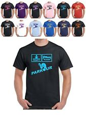 Parkour T Shirt Mens Womans Free Running PK FR available in 20 sizes