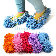 1PC Dust Mop Slippers Shoes  Bathroom Office kitchen Floor Cleaner Clean broom