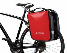 Crosso Dry 60 - 100% Waterproof Set of Two Panniers For The Rear Rack