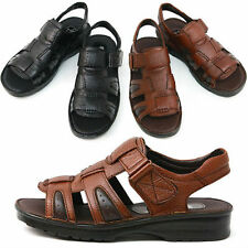 New Royal Comfort Mens Summer Leather Casual Sandals Shoes Nova