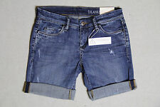 WOW... AMAZING NWT BLANK DISTRESSED ROLL UP SHORTS W/ STUD ORG $78 SIZES 24-30