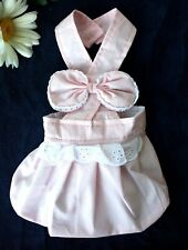 "USA SELLER Puppy Sundress Princess PINK Dress For Small Dog Length 7"" - 12"""