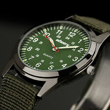 INFANTRY New Mens Lady NIGHTVISION Quartz Military Sport Nylon Strap Wrist Watch