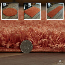 MODER SMALL EXTRA LARGE SOFT 5CM THICK HEAVY PILE PLAIN SHAGGY CHEAP FLOOR RUGS
