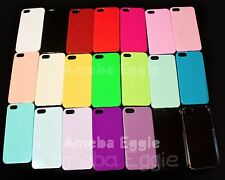For Apple iPhone 5 5s Hard Plastic Pastel Cute Candy Color Case DIY CHOOSE