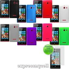 Straight Talk HUAWEI W1 H883G Ascend Windows Frosted TPU Skin Case Cover Screen