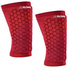 Mcdavid 6440 Old Logo Scarlet Red Hexpad Knee/Elbow/Shin/Forearm Basketball Pads