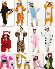 Animal Onesies Kids Unisex Kigurumi Party Cosplay Costume Pyjamas Pajamas