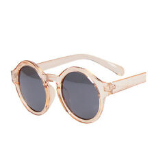 Retro Round Sunglasses Unisex Decoration 100% UVA and UVB Protection