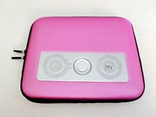 DELUXE iLUV PORTABLE AMPLIFIED STEREO SPEAKER CASE FOR IPAD 2, TABLETS, &  MP3