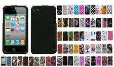 Two Piece Hard Snap on Design Protective Cover Case for iPhone 4 / 4S
