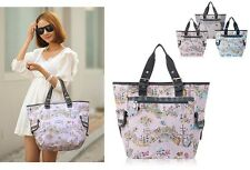 New Women Shoulder Bag School Canvas Campus Girls Bookbag Totes Travel Bag