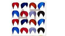 Sikh punjabi turban/patka/pathka of different colors and sizes kanga/kara/kirpan