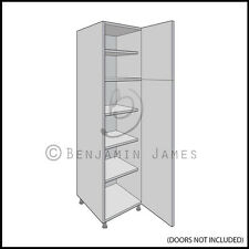 Kitchen Carcass Unit - Tall Larder Cabinet 1825 High - 18mm Back - 100 Colours!