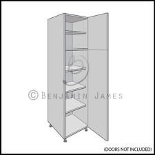 Kitchen Carcass Unit - Tall Larder Cabinet 1970 High - 18mm Back - 100 Colours!