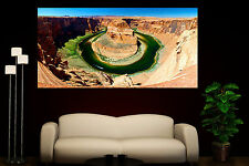 Canvas Giclee Prints Horseshoe Bend Grand Canyon Colorful Photo Print Decor 1 2