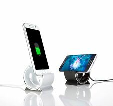 Sinjimoru Aluminum Sync Charge Dock Stand for Samsung Galaxy S5, S4, S3
