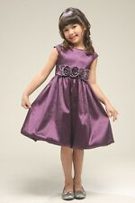 Breathtaking Flower Girl Party Princess Dress Wedding Costume Made In USA