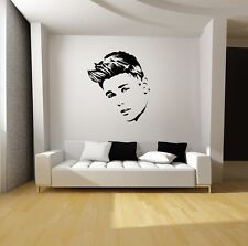 JUSTIN BIEBER WALL ART VINYL DECAL MURAL STICKER-Starting at $19.95!-SILHOUETTES