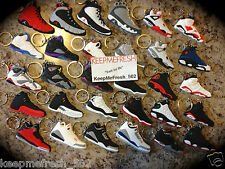 Air Jordan Retro Sneaker KeyChain 1 2 3 5 6 7 8 9 10 11 12 13 X NEW LOT LEBRON