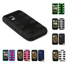 Fishbone Hard Shell +Silicone Rugged Cover Case for Samsung Fascinate i500