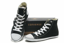 Converse Chuck Taylor All-Star Black Unisex Hi-Tops - Adult Sizes UK 3 - UK 10.5