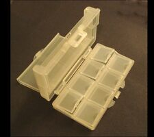 Clear plastic storage organizer container box multi function travel all purposes