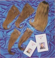 "14"" Caruso Silky Straight 5 Piece Clip-in 100% Medium Human Remi Hair Extensions"