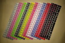 lot Color Keyboard Skin Cover Protector For HP ENVY TouchSmart 15t-j000 Notebook