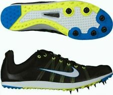 NEW Mens Sz 4 NIKE Zoom Victory XC Cross Country Black Blue Track Spikes Shoes