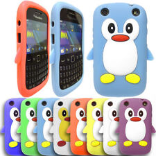 Cute PENGUIN SOFT GEL SILICONE SKIN CASE COVER FOR BLACKBERRY CURVE 9320 / 9220