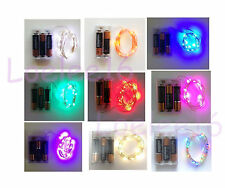 10 sets 20 LED Submersible Wire String Light Battery Fairy Wedding decor 7ft