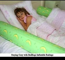 No More Bedrails Toddler Gift Inflatable Bed Bolster Bedbugz Bedbugs bed rail
