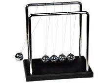 NEW NEWTON'S CRADLE EXECUTIVE GADGET TOY 2 SIZES IDEAL FOR OFFICE HOME XMAS GIFT