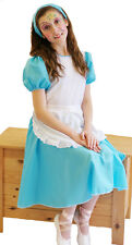 ALICE IN WONDERLAND-WORLD BOOK DAY Budget Alice  fancy Dress Costume ALL AGES