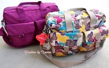 New W Tag Kipling Large Baby Bag with Changing Mat Furry Monkey