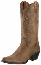 ARIAT - Women's Heritage Western J-Toe Boots - Distressed Brown - 10009514 - New