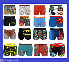MEN'S SUPERHERO BOXER SHORTS S-XXL Batman Superman Marvel