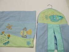 KIDSLINE SEA QUEST   VALANCE  OR  DIAPER STACKER   VERY GENTLY USED