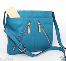 CLEARANCE Michael Kors Leather Portland Messenger Crossbody Bag! 1 LEFT NWT